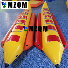 MZQM  inflatable banana boat for sale ,inflatable water banana boat
