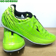 outdoor sport spikes running shoes men track and field running shoes ultra light racer training shoes