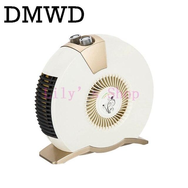 MINI portable Heater Electric 220V 1600W Warm Winter Mini desktop Fan Heater Forced Home Appliance EU US plug adapter