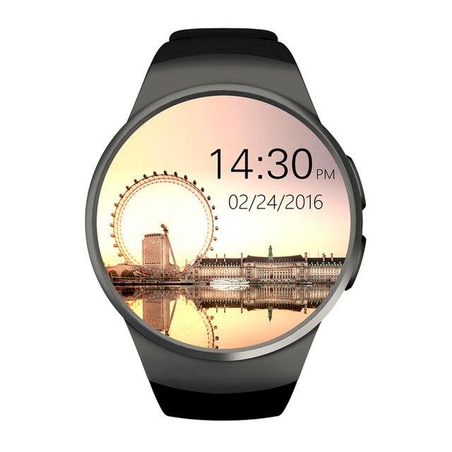 2016 Новые Bluetooth смарт смотреть полный экран Smartwatch Телефон Поддержка Sim-карта TF Мониторинг Частоты Сердечных Сокращений Для Android Ios Телефон