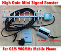 LCD Screen GSM 900 Mhz Repeater Booster Cell phone Mobile Signal Repeater Amplifier 13 dBi 9 Yagi units Yagi Antenna with Cable