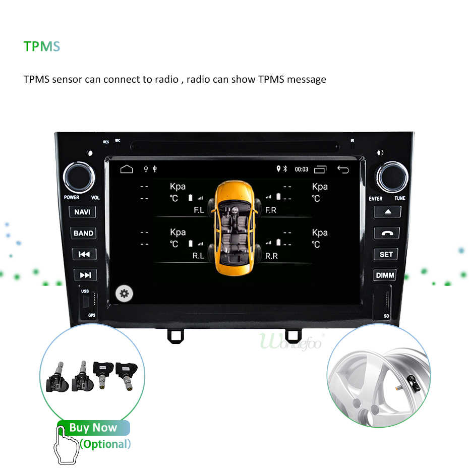 DSP 4G Android 9,0 2 DIN Автомобильный dvd-плеер для peugeot 408 308 308SW gps Навигация стерео радио мультимедиа HD экран AV выход ПК