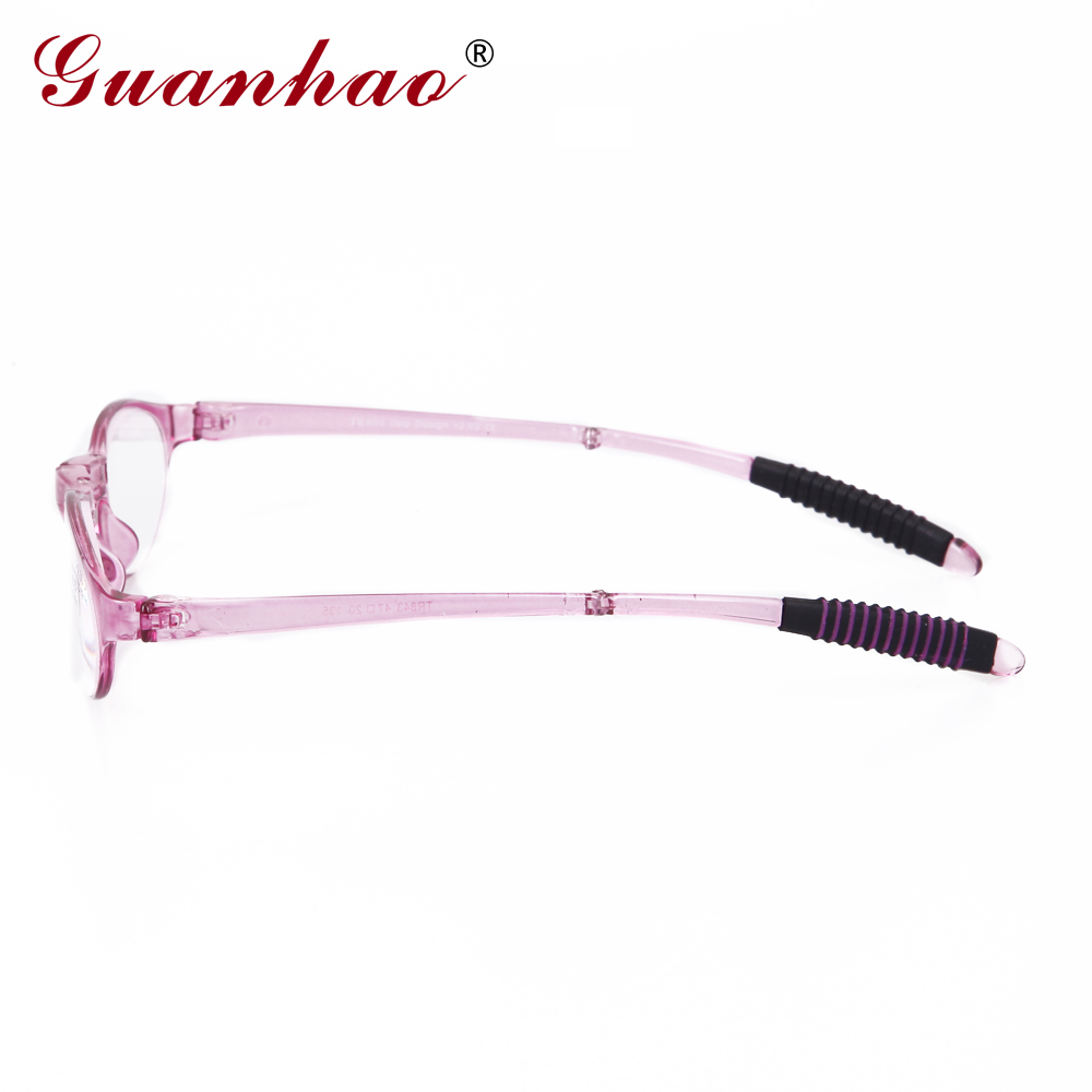 Guanhao Design Fashion Folding Reading Glasses Men Women Round TR90 - Apparel Accessories - Photo 3