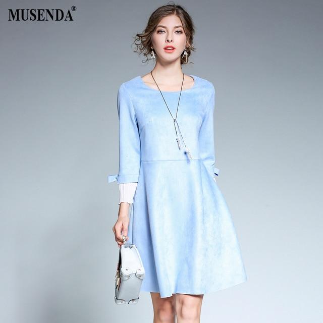 Elegantes kleid hellblau