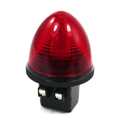 DC24V 2 Screw Terminals Red LED Industrial Signal Light Tower Lamp S-TX led телевизор panasonic tx 43dr300zz