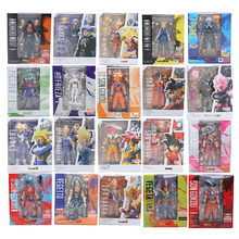 11.5-17cm Dragon Ball Z Figure Super Saiyan Son Goku trunks Vegetto Vegeta Frieza gohan Krillin Lazuli figure toy(China)