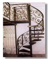 Demir spiral merdiven dairesel merdiven dökme demir spiral merdiven