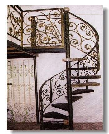 Iron Spiral Staircase Circular Staircase Cast Iron Spiral   Wrought Iron Circular Staircase   Wooden   Living Room   Artistic   Rail   Modern