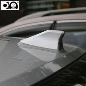 Image 5 - Waterproof shark fin antenna special auto car radio aerials Stronger signal Piano paint Suitable for most car models
