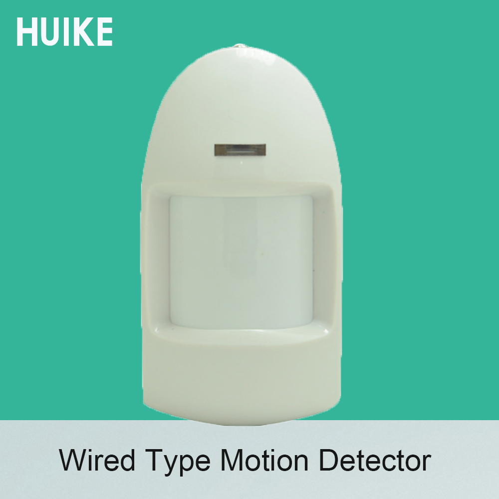 (1 PCS) Indoor Wired PIR Motion Sensor 12VDC working NC relay output self defense accessories infrared detector anti thief
