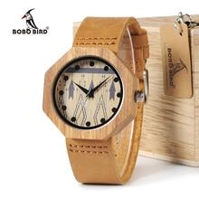 BOBO ptak Zebra drewna kobiet zegarki ręcznie antyczne drewniane japonia ruch kwarcowy na rękę jako prezent zaakceptować grawerowanie W D04