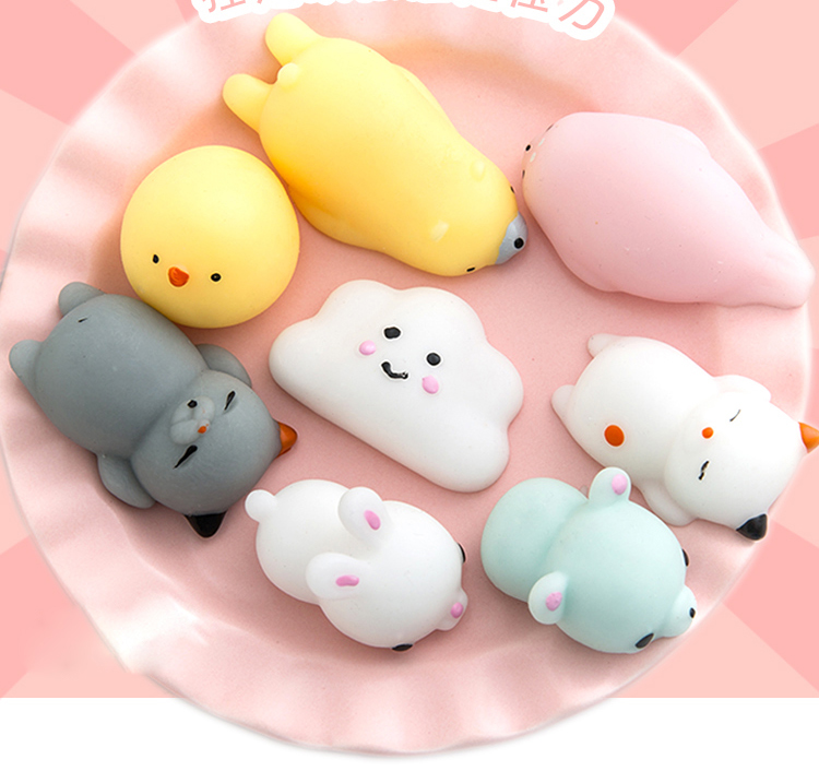 Squishy Animals For Phone : 2017 Hot Squishi Smartphone Accessories Cute Mini Soft Silicone Squishy Stress Hand Squeeze Toys ...