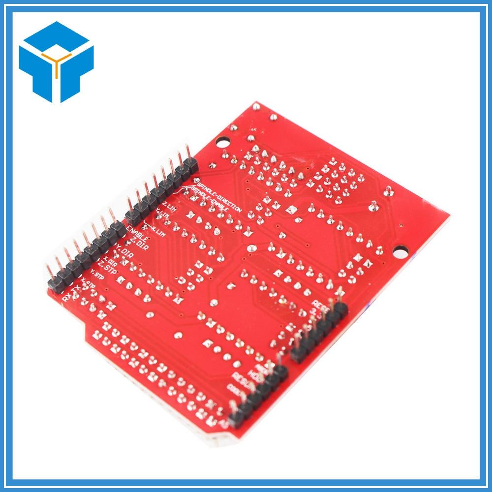 10Pcs/Lot CNC Shield V3 3D Printer Parts Reprap Shield V3 Engraving Machine A4988/DRV8825 Stepper Motor Driver Expansion Board