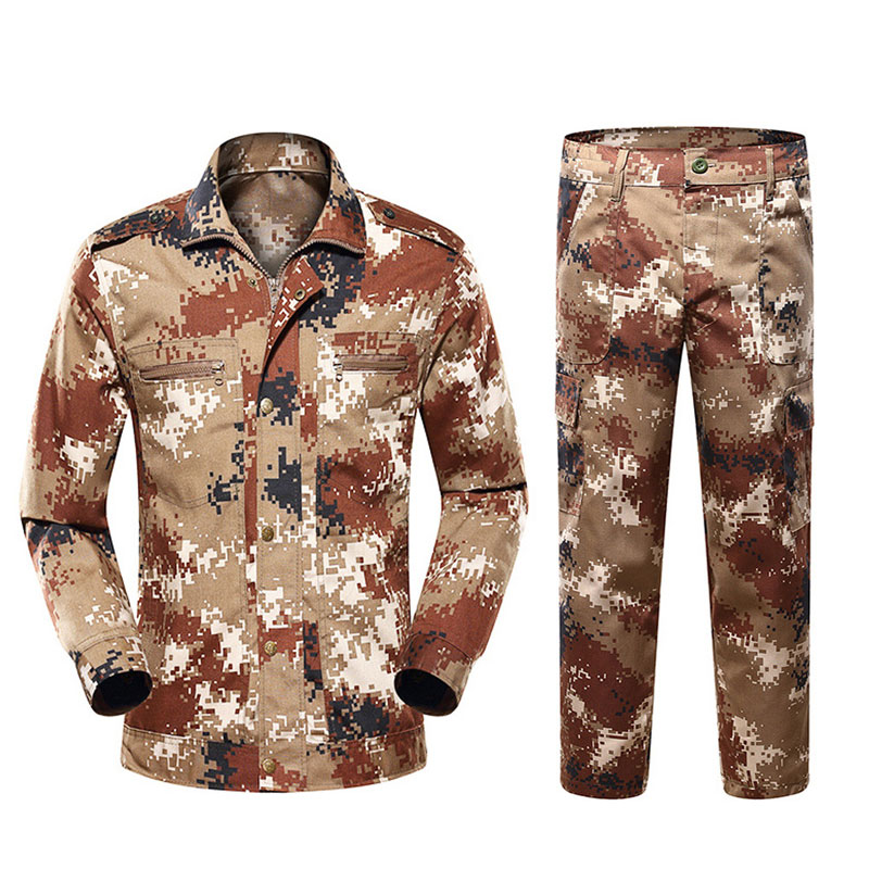 Jungle Camouflage Suits Outdoor Development Training Insurance Clothing Camouflage College Military Training Men's Clothing