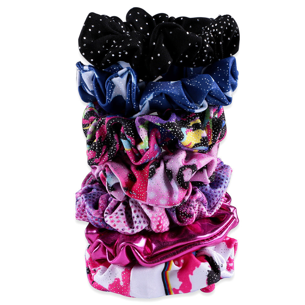 17 Color Girl Kid Seamless Ultra Elastic Hair Ties Bands Rope Ponytail Headband Scrunchie Rubber Band Hair Accessories metting joura vintage bohemian ethnic tribal flower print stone handmade elastic headband hair band design hair accessories