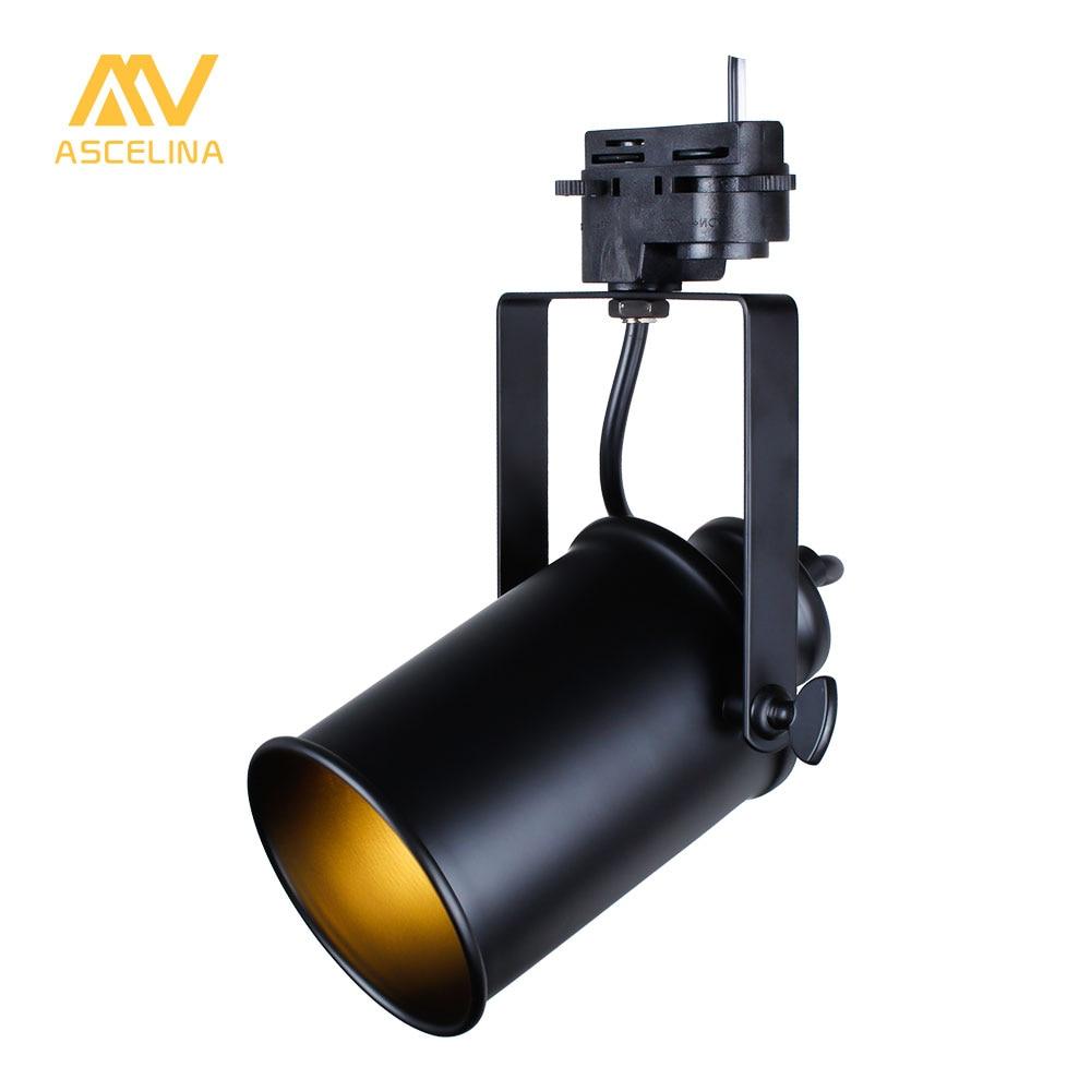 Movable Led Track Lighting: ASCELINA Led Track Light Led Spotlight Ceiling Adjustable