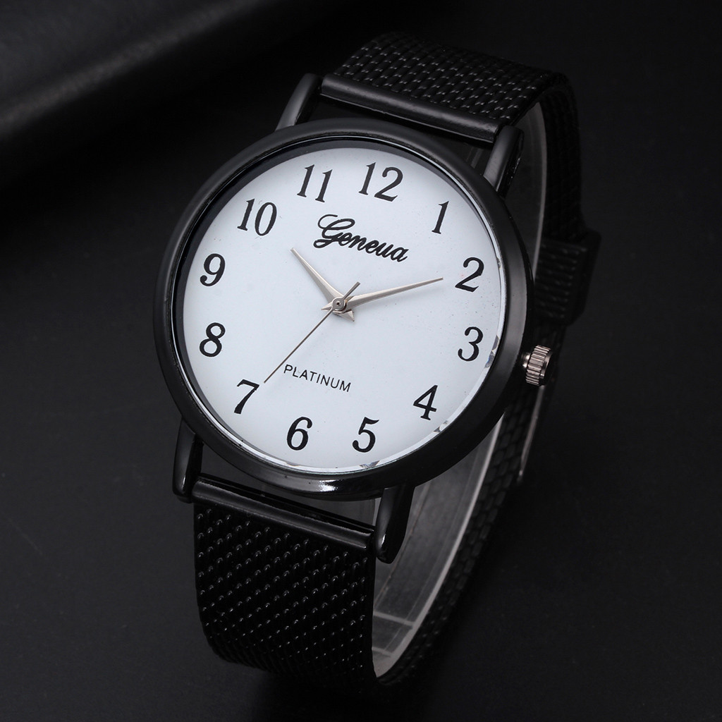 Brand Mens Watches Quartz Casual Classic Men Watch Strap Watches Silicone Mesh Belt Wrist Watch Clock Relojoeiros часы женские