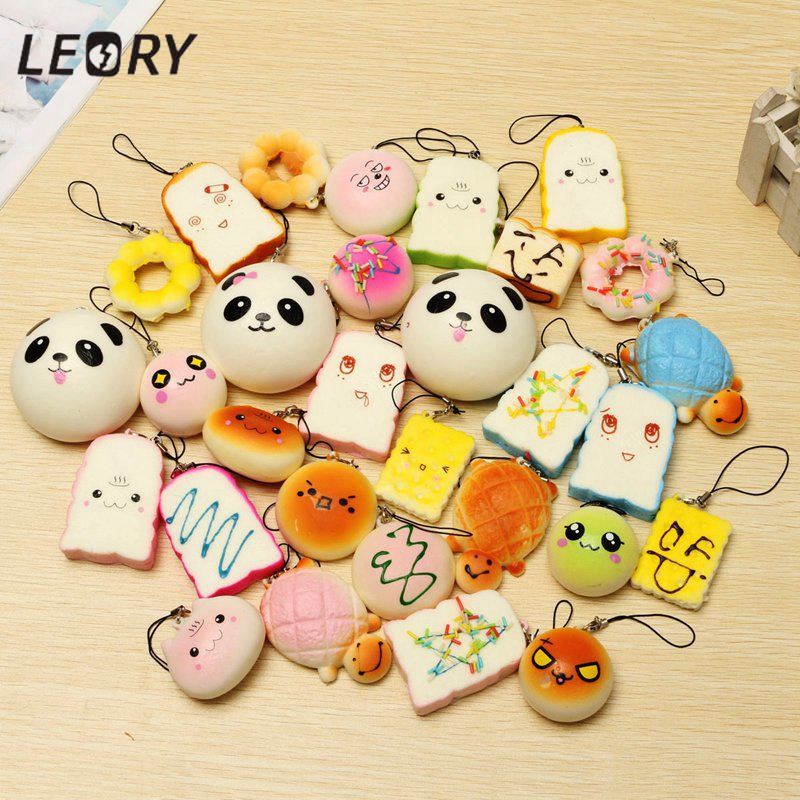 set Small Cute Bread Cell Phone