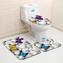 3 шт Нескользящие коврики для ванной комнаты