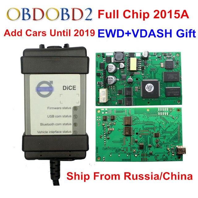 Pieno di Chip Per Volvo Vida Dadi 2014D 2015A Aggiungere Auto A 2019 OBD2 Auto Strumento di Diagnostica Dadi Pro Vida Dadi bordo verde Libera La Nave
