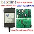 Полный чип Vida Dice 2014D 2015A, добавление автомобилей в 2019 OBD2, автомобильный диагностический инструмент Dice Pro Vida Dice, зеленая плата, бесплатная дост...