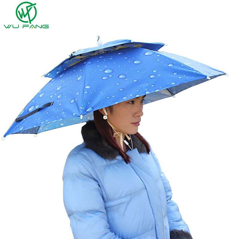 Rain gear summer new creative sun rain solid double for Fishing rain gear reviews