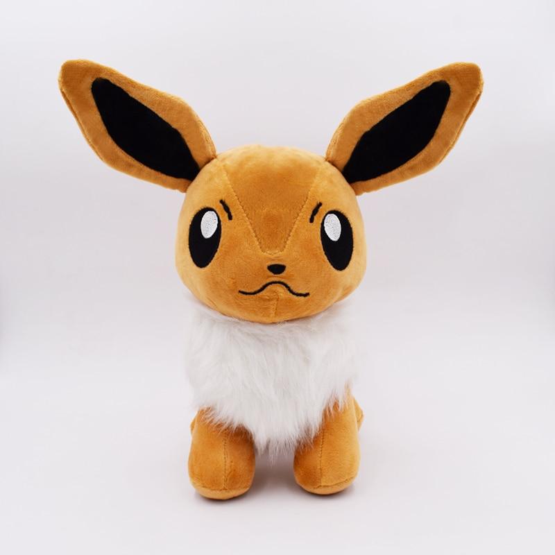 1pcs 25cm Hot Anime Stuffed Toy Cute Evoli Eevee Plush Toy Kids Doll FREE SHIPPING стоимость