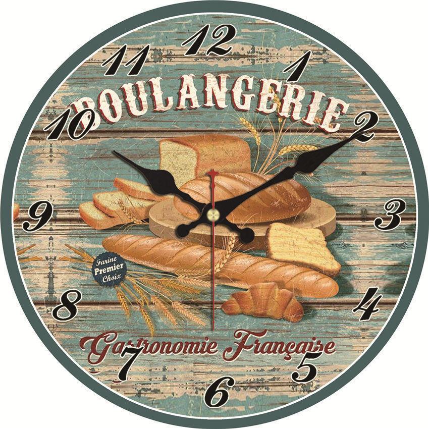 Vintage Wall Clock,Wall Watches Home Decor,Kitchen Wall Clock Big