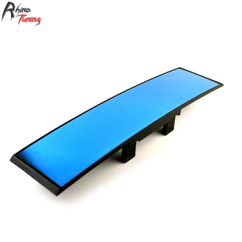 Rhino Tuning Car Rear View Interior <font><b>Mirror</b></font> Auto Accessories LCD Display With Digital Clock Curved Covers 18002