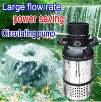 BOYU High power Fishpond Pump Stainless Steel Submersible Filter Pump For KOI Fish Pond High Lift Large Flow Ceramic Bearing