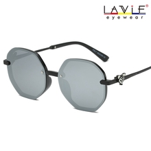 2019 New Arrival Women Sunglasses Shades for Vintage Oversized Round Trending Products