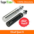 100% Оригинал Eleaf iJust S Starter Kit с 3000 мАч Батареи и 4 мл Верхний Заполняя Распылитель и ЕС/ECL Катушки Электронная Сигарета
