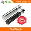 100% original eleaf ijust starter kit com 3000 mah battery & 4 ml de enchimento superior atomizador & ce/ecl bobinas de cigarro eletrônico