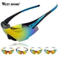 Gafas para Ciclismo WEST BIKING, Gafas para hombre, UV400 viento a prueba de Gafas de sol, Gafas de Ciclismo MTB, Gafas para Ciclismo