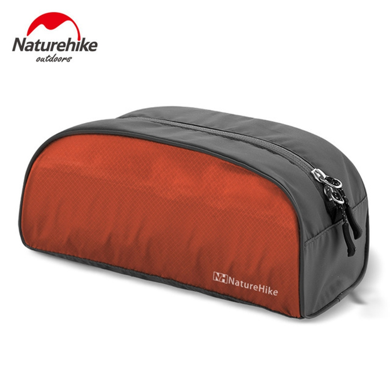 Naturehike Ultralight Waterproof Makeup Toiletry Cosmetic Storage Wash Bag Purse Laundry Organizer Hiking Camping Travel Kits