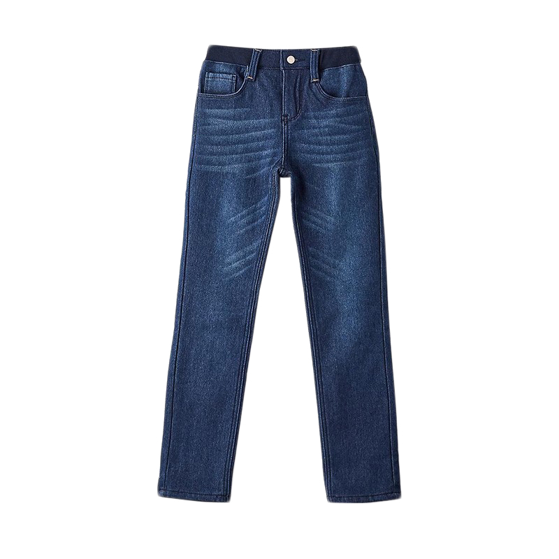 Фото - Jeans MODIS M182D00206 for girls kids clothes children clothes TmallFS girls destroyed jeans