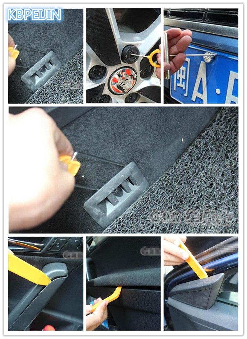 Priora: how to remove the door trim 72