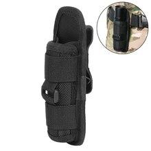 цена на Tactical Flashlight Pouch 360 Rotable Flashlight Belt Holster for UC30 UC35 G2 501B/502B/XTAR TZ20 Torch Pouch
