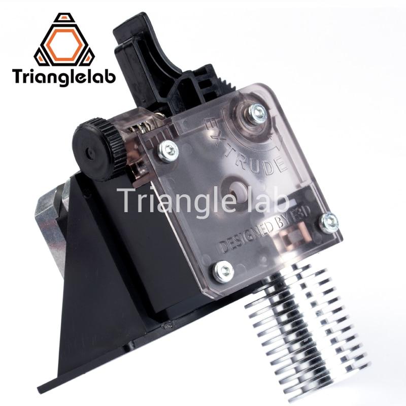 Trianglelab 3D impresora titan extrusora para 3D impresora reprap MK8 J-La bowden envío gratis opcional MK8 i3 soporte de montaje