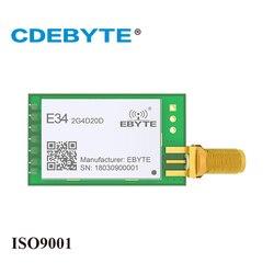E34-2G4D20D High Speed Full Duplex nRF24L01P 2.4Ghz 100mW SMA Antenna IoT uhf Wireless Transceiver Transmitter Receiver Module