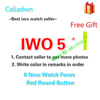 Celiadwn Smart Watch IWO 5 Heart Rate 1 1 42mm Wireless Charge Smartwatch IWO 3 Upgrade