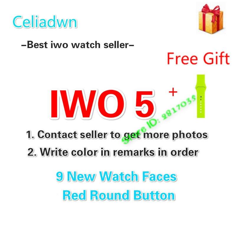 Celiadwn Smart Watch IWO 5 Heart Rate 1:1 42mm Wireless Charge Smartwatch IWO 3 Upgrade Bluetooth Watch For iOS Android VS IWO 4 iwo 5 wireless charger bluetooth smart watch with heart rate ecg 9 clock faces watch pedometer for android ios phone pk iwo 3 2