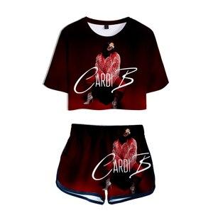 Image 5 - Rosa roupa de duas peças conjunto curto para as mulheres outfits 2019 2 peça conjunto feminino ropa sexy sweatsuit verão ensemble femme