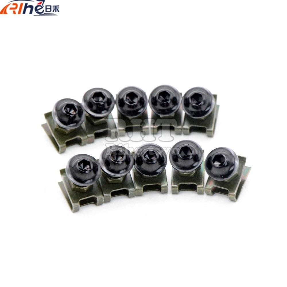 6mm motorcycle fairing screw kit set screws for yamaha fz6 fazer fz6r fz8/xj6 diversion fz1 fazer mt-/fz-mt-09/sr/fz9 ducati