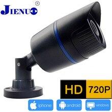JIENU 720P HD Mini IP Camera Waterproof 24LED IR Cut Night Vision Camera P2P Smart Phone View ONVIF h.264