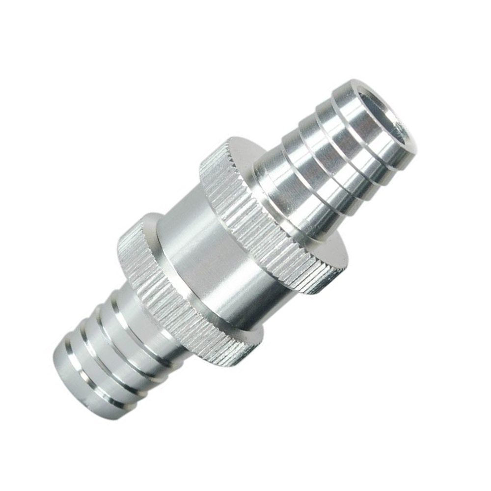 PQY - 9/16 14mm Non Return One Way Fuel Check Valve Aluminium Alloy Petrol Diesel PQY-FCV14