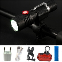 USB CREE XM L2 LED Flashlight Tactical Flashlight Powerful 8000LM Aluminum Torch Flash Light Camping Lamp