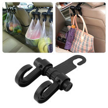 General Portable Car Seat Back Storage Hook Sundries Hanger Bag Holder Universal Multifunction car hook Fastener & Clip(China)