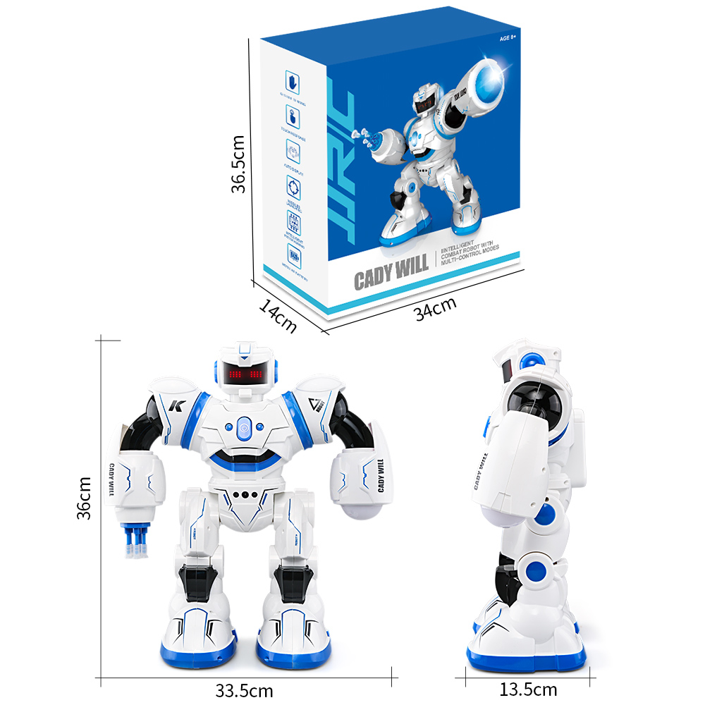 JJRC R3 Smart Dancing Robot CADY WILL Sensor Control Intelligent Combat Gesture Toys Actions Figure for Kids Christmas Gift