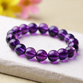 Lucky charms Bracelets Tiger Eye Amethyst Bangles Elastic Rope Chain Natural Stone Bracelets For Women and Men Pulseras Jewelry